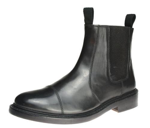 Bench Grade Stratford Welted  Black Dealer Boots